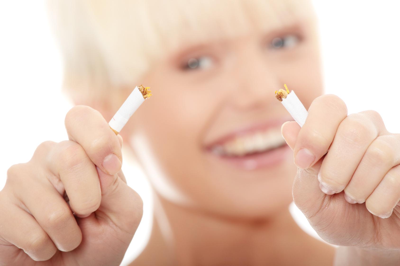 Quello che diventa grosso quando smesso fumando